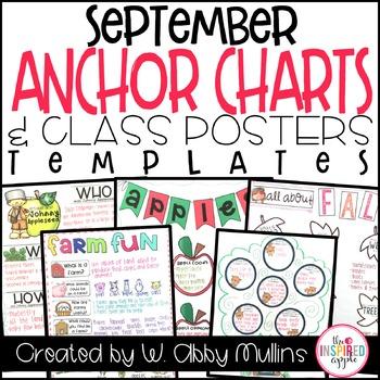 Fall Anchor Charts