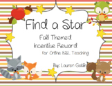 Fall Animals Find A Star Reward System for Online ESL Teaching