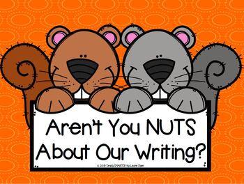 Fall Animals Tear Paper Writing Craftivities