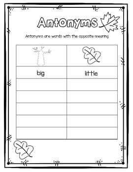 Fall Antonyms