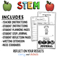 Fall Apple Boat STEM Activity: Sink or Float? - NGSS Aligned