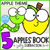 Apple Emergent Reader / Apple Minibook - PreK, Kindergarten, Preschool, Pre-K