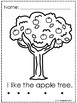 Fall Apple Coloring Pages