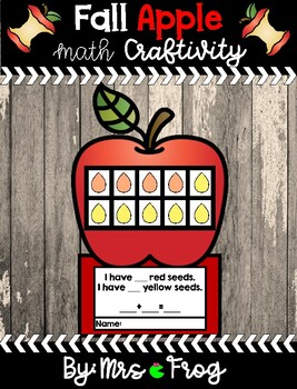 Fall Apple Math Craftivity
