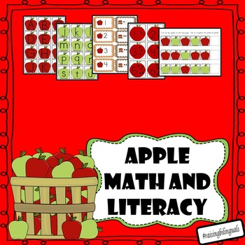 Fall Apple Math and Literacy