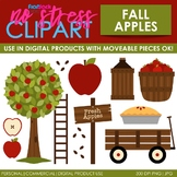 Fall Apple Picking Clip Art (Digital Use Ok!)