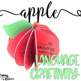 Fall Apple Theme Craftivity
