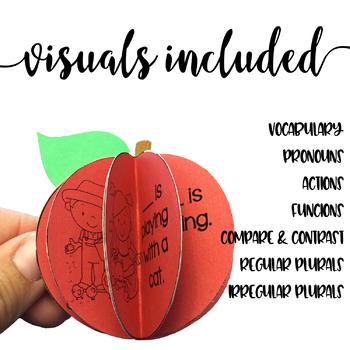 Fall Apple Theme Craftivity