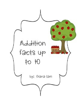 Fall / Apples - Addition Facts Up To 10