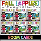 Fall Apples Digital Task Cards | Boom Cards™ | Distance Learning