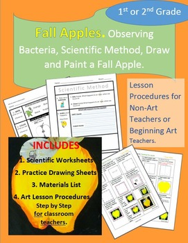 Fall Apples:  Scientific Method and Paint an Apple!