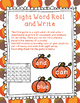 Fall Apples and Pumpkins Math and Literacy Centers
