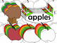 Fall Apples and Trees Clipart (Personal & Commercial Use)