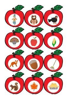 Fall Apples for Vocabulary or Describing