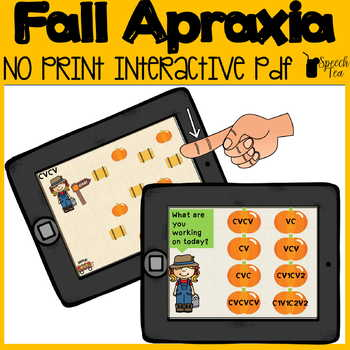 Fall Apraxia No Print
