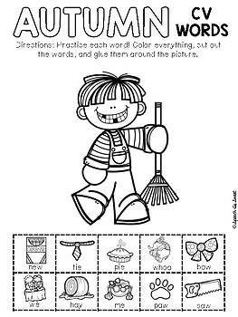 Fall Apraxia: Snip and Stick!