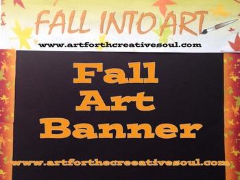 Fall Art Banner
