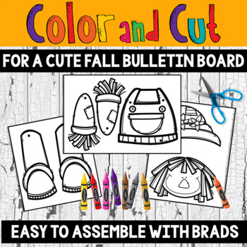 Fall Art! Build a Scarecrow with a Fall Writing Project