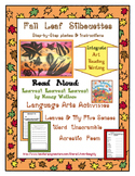 Language Arts Writing/Poetry with Fall Art - Draw & Watercolor Leaf Silhouettes