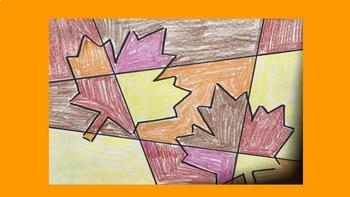 Fall Art Project, Leaves, Stained Glass, Autumn, Bulletin Board