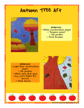 Fall Art Lessons - Project Ideas