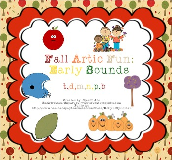 Fall Artic Fun: Early Sounds