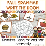 Fall Articles Write the Room | A Literacy Center