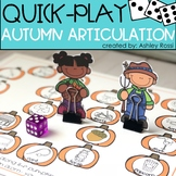 Fall Articulation - A Quick Play Game