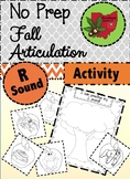 Fall Articulation Activity - R Sound