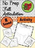 Fall Articulation Activity - R Sound