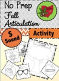 Fall Articulation Activity - S Sound!