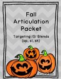 Halloween Articulation Blends