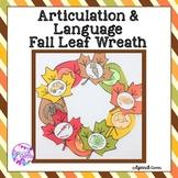 Fall Articulation & Language Craft