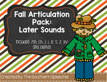 Fall Articulation {Later Sounds}