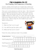 Fall Articulation for Oral Reading, Oral Responses & Retelling