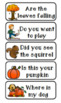 Fall Asking and Telling Sentences