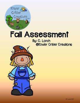 Fall Assessment Activity