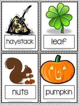 Flashcards Fall / Autumn