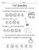 Fall Autumn Activity Pack Literacy Math {Sample Set}