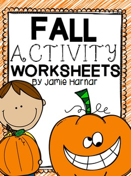 Fall Autumn Activity Worksheets