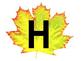 Fall/Autumn Alphabet Bean Bag Game
