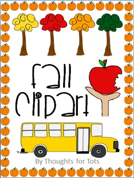 Fall, Autumn, Back to School Clip Art