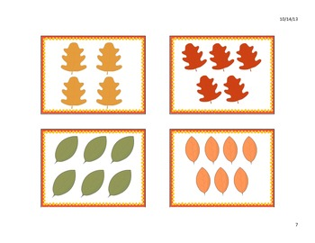 Fall/ Autumn Cards 1-20