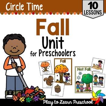 Fall Circle Time Unit
