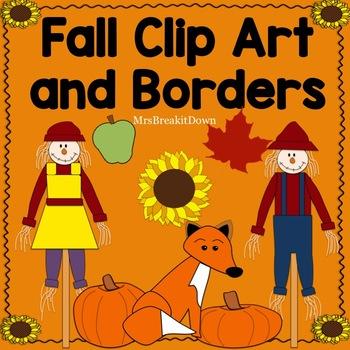 Fall - Autumn Clip Art and Borders