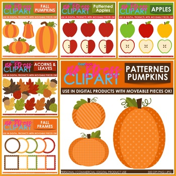 Fall Autumn Clipart BUNDLE