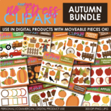 Fall Autumn Clipart BUNDLE