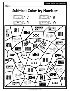 Fall/Autumn: Color by Number {Number Sense, Addition ...