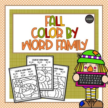 Fall/Autumn Color by Word Family