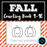 Fall / Autumn Counting 1-10 Book